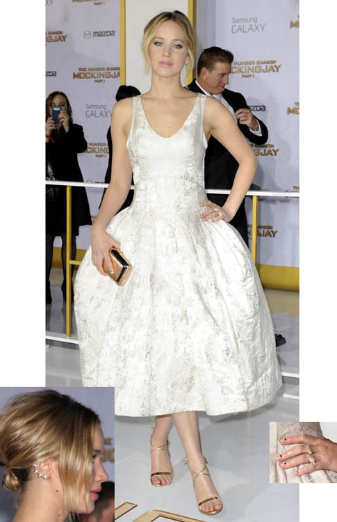 Jennifer Lawrence at the Hunger Games \'Mockingjay\' Premiere in Los ...