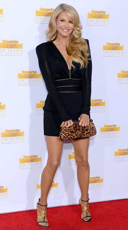 Christie Brinkley Attends Nbc And Times Inc Celebrate The