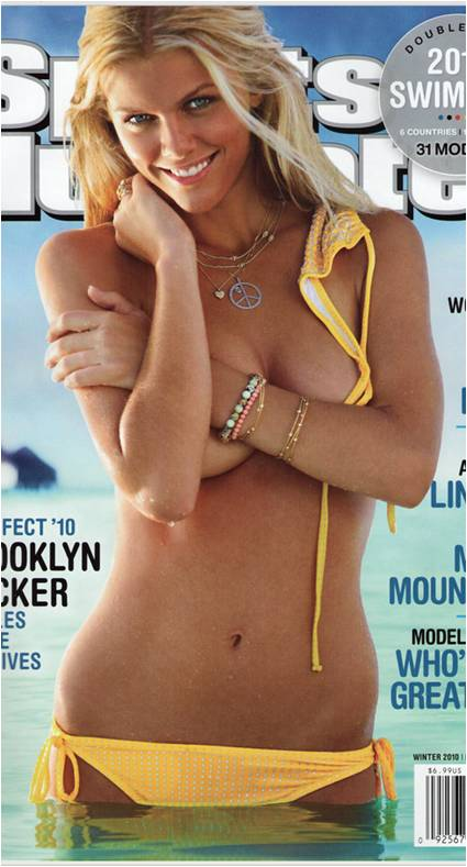 brooklyn decker sports illustrated swimsuit cover